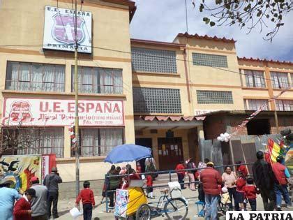 imagenes educativas de bolivia unidad educativa espa 241 a 82 a 241 os de entrega a la educaci 243 n