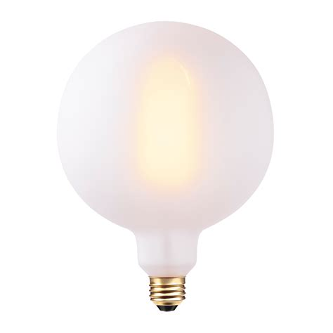 dimmable incandescent light bulbs oversized frosted exterior vintage edison round palla 60w