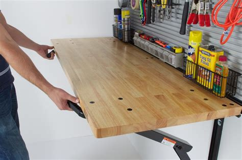 fold out work bench foldable garage workbench top 5 gifts for guys 2015