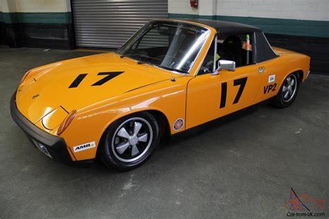 porsche 914 race cars 1970 porsche 914 6 scca vintage racer race proven ready