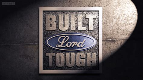 Built Ford Tough Logo by Built Ford Tough Logo Vector Image 586