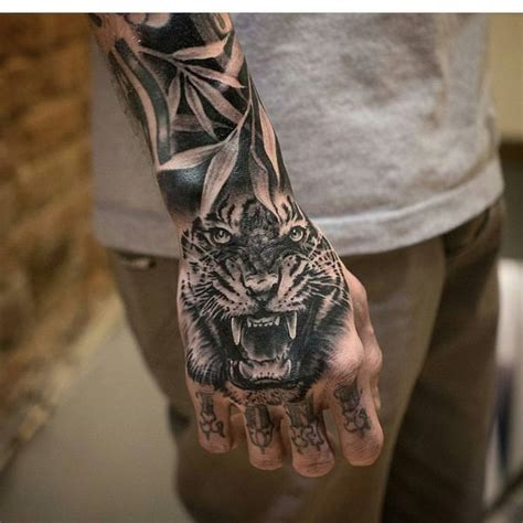 tiger finger tattoo 60 awesome tiger designs with meanings