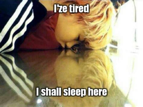 Sleepy Baby Meme - sleepy zelo precious baby zelo adorable maknae