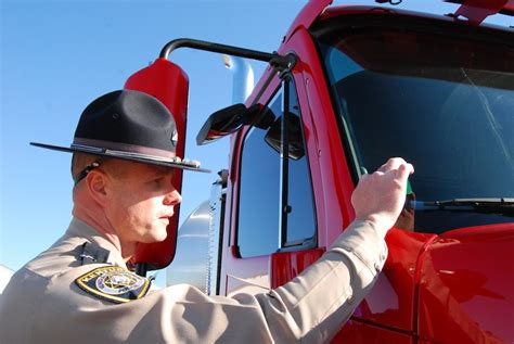 Dot Inspector by Inspection Sticker Application Overdrive Owner Operators Trucking Magazine