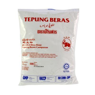 gajah tepung beras 500g food gt flour gt flour starch