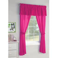 Walmart Curtains For Bedroom | your zone 5 piece poodle curtain set walmart com