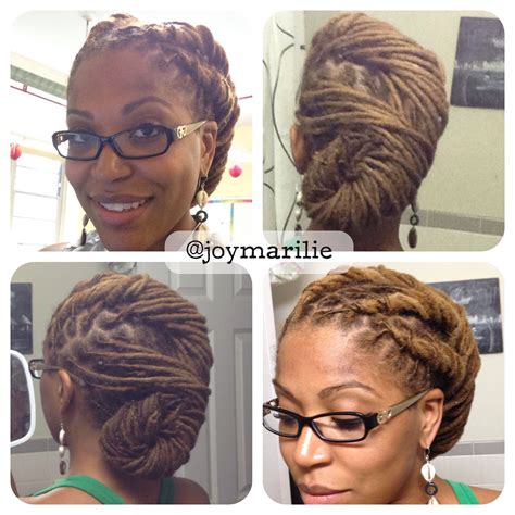 Pin Up Hairstyles For Dreads by Pin Up Styles For Dreads I Locs Every Pic Of Hers