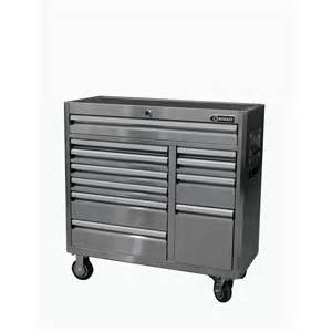 Kobalt Storage Cabinets Kobalt 11 Drawer Stainless Steel Tool Chest Base Lowe S Canada