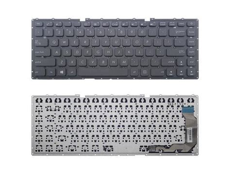 new laptop keyboard without frame for asus x441 x441s