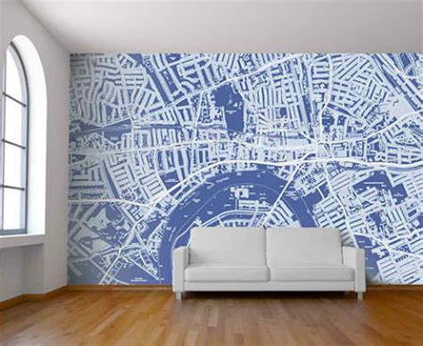 Wallpapered Bathrooms Ideas by Celebrate Cities With Customizable Map Wallpaper