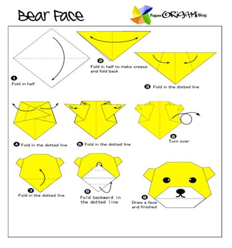 Origami Guides - free coloring pages origami easy 101 coloring pages