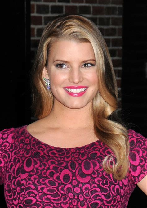 widows peak for 60 year old woman curly hair jessica simpson long corkscrew curl