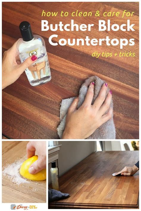 How To Clean Kitchen Countertops 25 Best Ideas About Butcher Block Kitchen On Pinterest Butcher Block Countertops Butcher