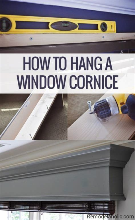 a cornice 25 best ideas about window cornices on window