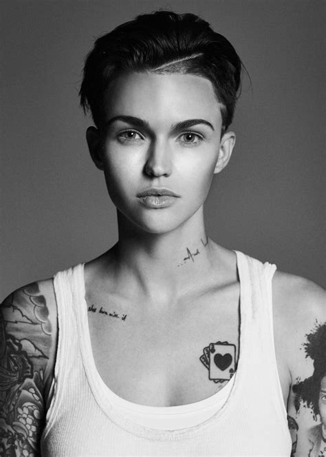 ruby rose neck tattoo ruby to join avicii zedd more for ibiza debut