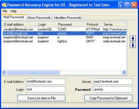 yahoo email quick fix shareware4u password recovery engine for outlook express