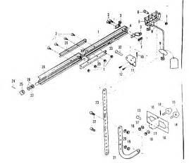 craftsman sears electronic garage door opener with