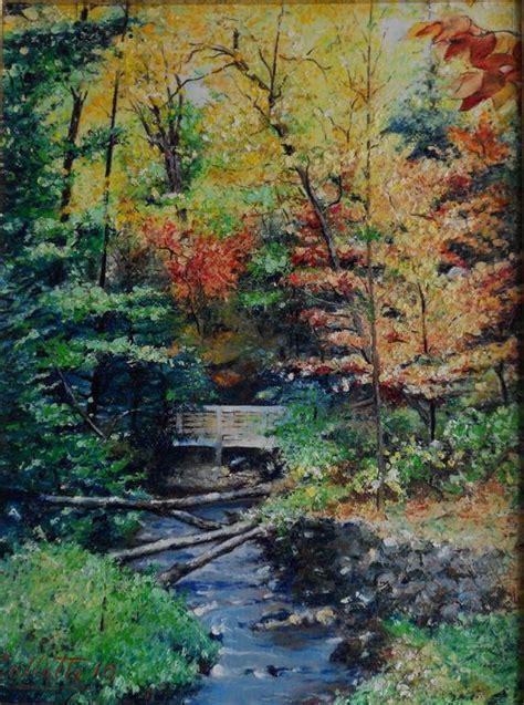 bosco autunnale vendita quadro pittura artlynow