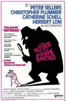 the pink panther wikipedia the free encyclopedia the return of the pink panther wikipedia