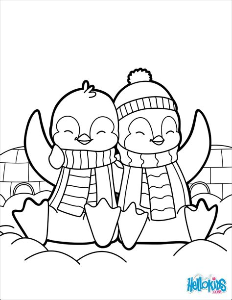 penguin coloring pages s day penguins coloring pages hellokids