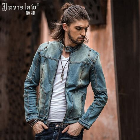 Washed Ripped Denim Jacket mens jean jackets chinaprices net