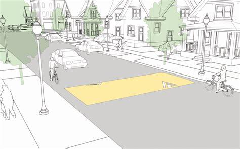 street layout maker speed hump national association of city transportation