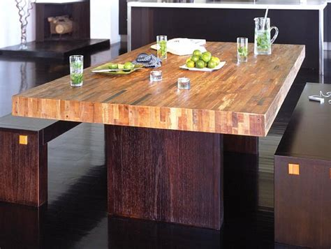 Modern Style Dining Tables Reclaimed Wood Dining Table Designs Recycled Things