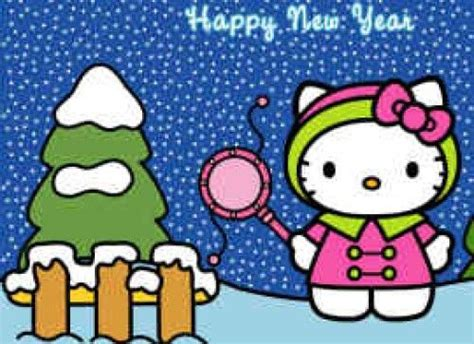 hello kitty new year wallpaper happy new year hello kitty wallpaper hello kitty