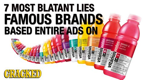 The 7 Most Inspiring by The 7 Most Blatant Lies Brands Based Entire Ads On