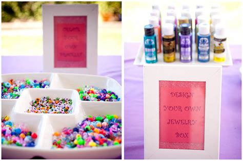 party themes for jewelry cute jewelry themed 8th birthday party pizzazzerie