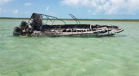explosion on a boat pictured american woman killed in bahamas tour boat