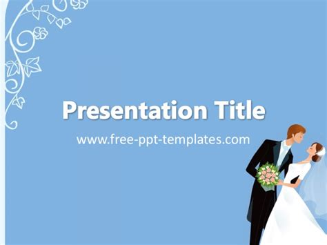 wedding ppt template