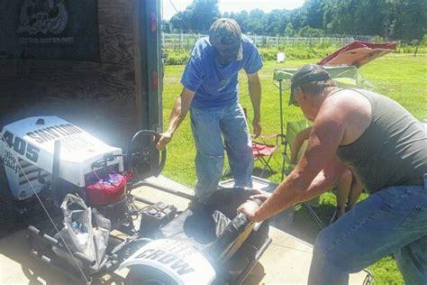 rebels and rednecks lawn mower racing mt airy news lawnmower racing gains momentum