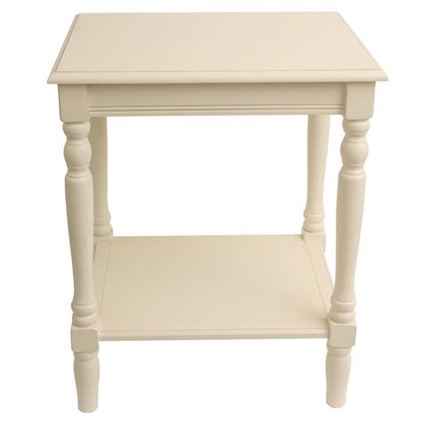 decor therapy end table decor therapy simplify antique white end table fr1803