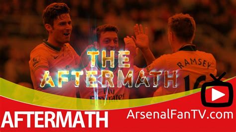 arsenal fan tv youtube arsenal fc 2 crystal palace 0 the aftermath show