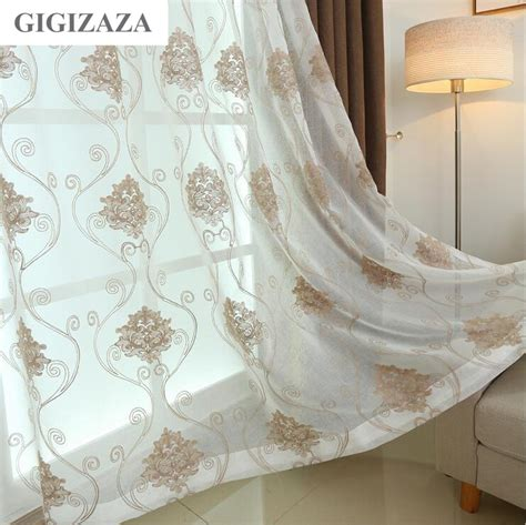sheer gold curtains online get cheap sheer gold curtains aliexpress com