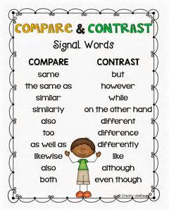 How To Compare And Contrast Two Characters In An Essay by 1000 Ideas About Compare And Contrast On Compare Schools Compare And Contrast