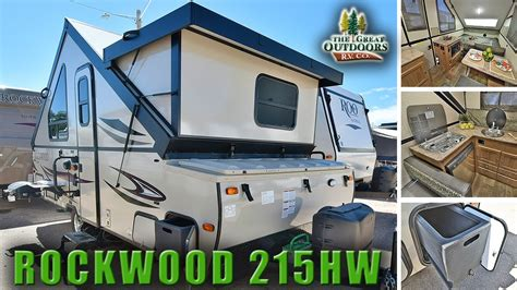 Pop Up Frame Marine new pop up side 2018 rockwood 215hw a frame cer rv colorado dealer