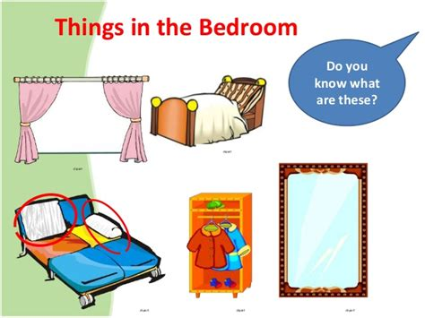 Things To Do In The Bedroom by 7 Things In The Bedroom Clipart