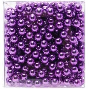 purple bead garland poundland wedding stuff i like pinterest