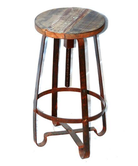 Bar Stools Wood And Iron by Reclaimed Wood And Iron Bar Stool Sofa For Dc