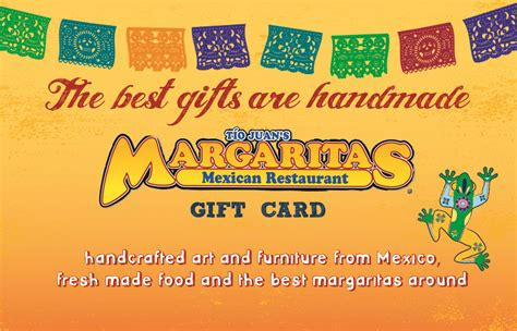 gift cards margaritas mexican restaurant - Margaritas Gift Card