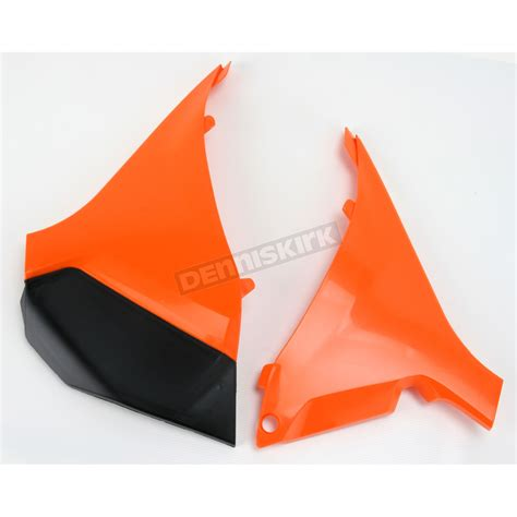 Ktm Airbox Cover Acerbis Ktm Orange Air Box Cover Set 2205450237 Dirt