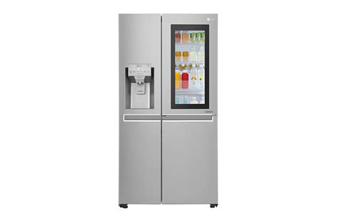 Lg Gc X247ckav Kulkas Side By Side Instaview Door In Door Lg Gc X247csav 668ltr Instaview Door In Door Refrigerator