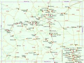 map of southwest colorado kabyadi durango colorado map
