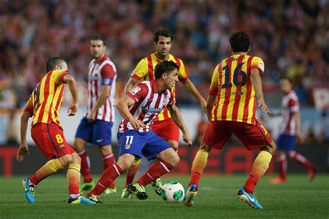 barcelona atletico madrid sergio busquets photos photos club atletico de madrid v