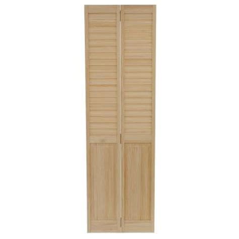 Solid Wood Louvered Doors Interior by Bay 24 In X 80 In 24 In Plantation Louvered