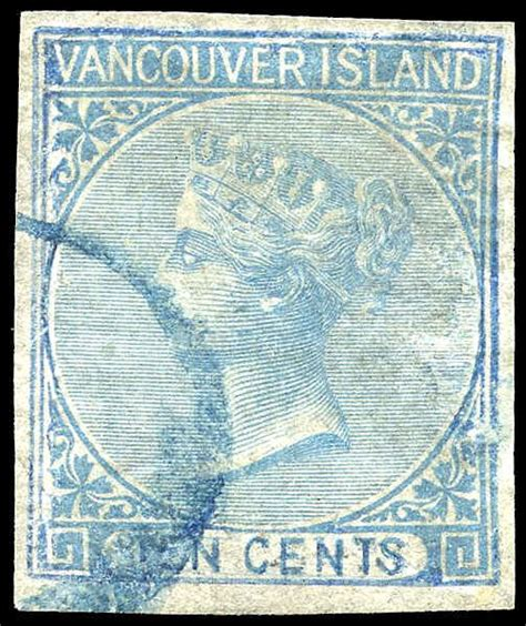 libro vancouver island itm r v british columbia 4 queen victoria 1865 10 162 used very fine u vf 006 british columbia