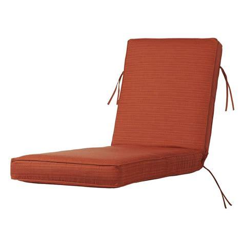 sunbrella outdoor chaise cushions home decorators collection sunbrella blue outdoor chaise