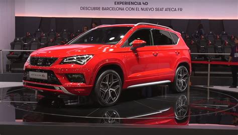 seat ateca black seat ateca fr shown in barcelona looks cool in red